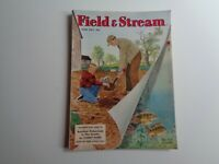 FIELD & STREAM MAGAZINE Vintage June 1952 Fishing Cover Art Walter Dower