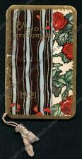 CALENDARIETTO FONTANELLA 1921 VISIONI PROFUMATE Illustrat. CODOGNATO - FONDO ORO
