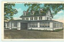 Hummelstown near Harrisburg PA Indian Echo Inn 1920s Antique Postcard 25048