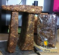 5 lbs Natural Raw African Black Soap, Organic, Unrefined from Ghana West Africa