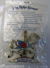 Disney Pin 20642 DLR Cast Carrousel Horse 3D Slider Pin