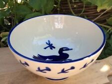Blue Pottery Bowls 1980-Now Date Range
