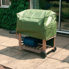 New Kingfisher Green Waterproof UV Protected TROLLEY BBQ Protective Rain Cover