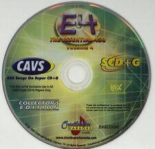CHARTBUSTER KARAOKE ESSENTIAL 450 VOL 4 ES450 COLLECTOR'S EDITION SUPER CD+G E4
