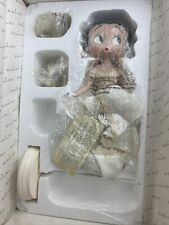Betty Boop Bridal Beauty Danbury Mint Porcelain Doll Figure