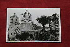 Mission De La Purisima Conception Postcard - Real Photo RPPC- San Antonio, Texas
