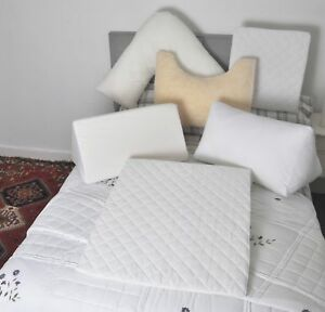 Premium Quality Bed Wedge,Sleep Wedge,Butterfly,Hollowfibre/Foam Triangle Pillow