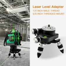 12 Line Laser Level Adapter 360° 3D Cross Beam Self Leveling Measure Tool Kit