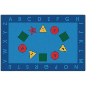 Carpets for Kids 72.82 Early Learning Value Rug 6 ft. x 9 ft.