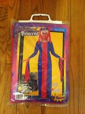 child's size small 4-6 Costumania brand Medieval Princess Halloween costume new