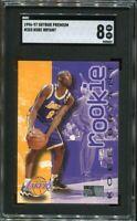 1996-97 Skybox Premium #203 Kobe Bryant SGC 8 Comp PSA BGS Lakers Legend Rookie