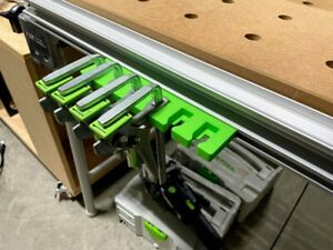 Festool Quick Clamp Rack x6 For Festool MFT Workbench Table