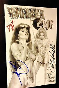 Vampirella / Shi #1C Signed by Louis Small Jr. & Billy Tucci (Sep 1997, Harris)