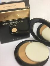 Revlon New Complexion Powder, NATURAL BEIGE , 0.35 Ounce OIL -FREE NEW.