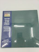 "ArtMinds 4 pc green 12"" square Cork Board Tiles Wall bulletin boards"