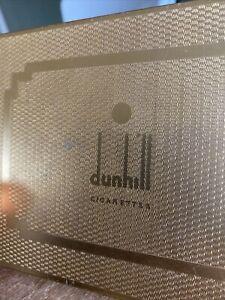 Dunhill cigarette box. Metal box. Stylish storage.