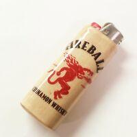 Fireball Cinnamon Whisky Lighter Case Holder Sleeve Cover Fits Bic Lighters