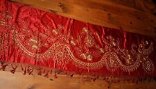 Chinese Silk Gold Thread Embroidered Tapestry Textile Shawl Altar Cloth Persian