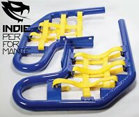 Yamaha Raptor 660 2001-05 Quad ATV Nerf Bars Nets & Fittings Blue Ano (YelN) #07