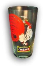 Bicchiere shaker mixer cinzano marchio gallo vintage **