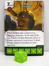 Dice Masters - #080 Loki Illusionist - Avengers vs X-Men