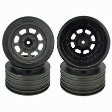 DE Racing DER-DS4-RB Speedway SCT Wheels Slash Rear (Black)