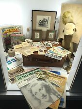 old Job Lot Vintage Items Bits & Bobs Collectables Curios Bottom Drawer Items