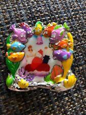 Disney Pin 125023 Little Mermaid Frame Park Pack Sebastian Wedding Bride Le 500