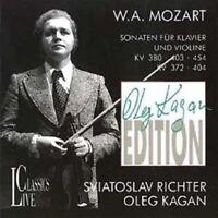 Sonaten KV 372/380/403/404/454 - Oleg Kagan   CD Neu - New