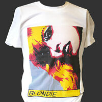 BLONDIE PUNK ROCK T-SHIRT ramones clash siouxsie S M L XL 2XL 3XL