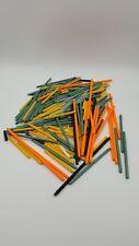 Knex K'nex Block Construction Multi Color 150+ Rod Rods Lot 7 7/8 - 9/16 - 1/8 +