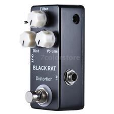 BLACK RAT Compulsive Distortion Mini Guitar Effect Pedal True Bypass V3A5