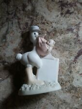 Precious Moments Figurine Stork. Baby Girl. Can Be Personalized. Very Rare.