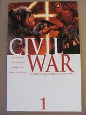 Civil War #1 Marvel Comics 2006 Series Mark Millar 9.2 Near Mint-