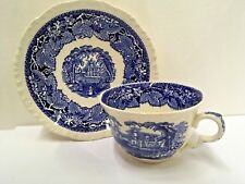 """Mason's  VISTA-BLUE Large Cup and Saucer Set (2 3/4"""") More items available"""