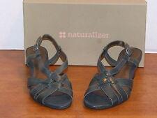 Naturalizer Platforms Wedges Solid Leather Women's Sandals & Flip Flops