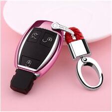 Car For Mercedes Benz Smart Key Remote Holder TPU Case Glossy Evoque Class Fob