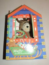 North American Bear Company Muffy The Red Nosed Reinbear, Boxed
