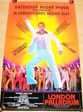 SATURDAY NIGHT FEVER STUNNING RARE PROMO THEATRE POSTER LONDON PALLADIUM IN 1999