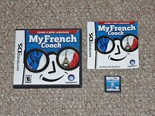 My French Coach Nintendo DS Complete