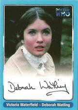 Dr Doctor Who Series 1 Autograph Card A7 Deborah Watling as Victoria Waterfield