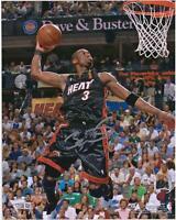 "Dwyane Wade Miami Heat Autographed 8"" x 10"" 2006 NBA Finals Dunk Photograph"