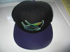 New 90's TAMPA BAY DEVIL RAYS Two Tone Hat 6 3/4 6 7/8 New Era 5950 Dead Stock
