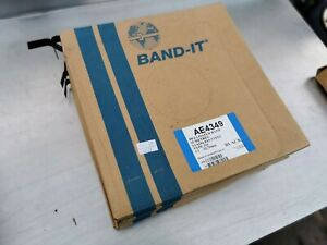 """Band it AE4349 x5 band 125 metres stainless steel 316 1/2"""" black"""
