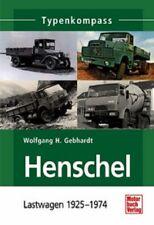 Gebhardt: types Compass Henschel Truck 1925-1974 Truck (Hanomag) NEW