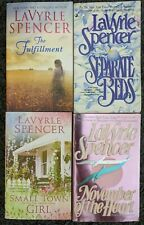 LAVYRLE SPENCER ROMANCE DRAMA BOOK LOT OF 4 PAPERBACK NOVELS FREE SHIPPING!