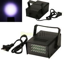 Mini DJ Strobe Light Flash Light Club Stage Lighting Party Disco 24 LED Bulb
