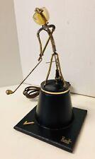 Vintage Gordon Bradt eléctrico Kinetico escultura cinética golfista funciona muy bien!