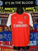 4/5 Arsenal adults XXL 2014 home football shirt jersey trikot soccer