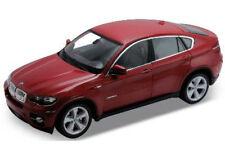 WELLY 1:18 AUTO  BMW X6 ROSSO SCURO 2008 18031 W